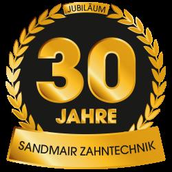 30 Jahre Sandmair Zahntechnik